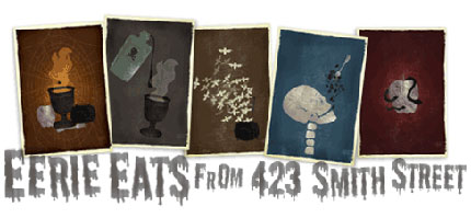 Eerie Eats Recipe Cards